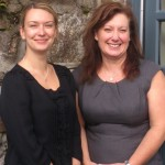 Two of the latest members of the Gain team - Vanessa King and Tania Draper